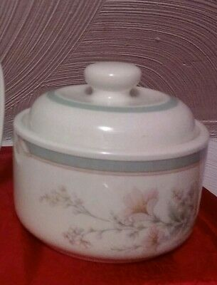 Sugar Bowl Noritake Keltcraft Misty Isle Collection Deerfield