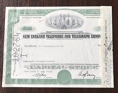 Lot of 9 Vintage Stock Certificates