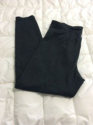 Old Navy Maternity Black Tummy Panel Leggings Pants Stretch M