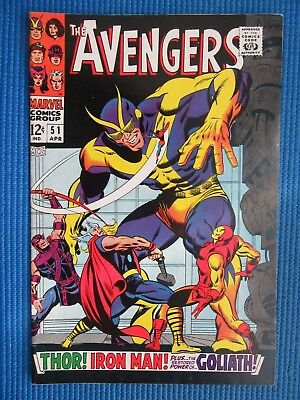 Avengers # 51 - (Vf) - The Collector - Thor, Iron Man, - Power Of Goliath
