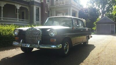 1968 Mercedes-Benz 200-Series 200D 1968 Mercedes Benz 200D, W110, not W111 Heckflosse Fintail, 30+yr mechanic owned