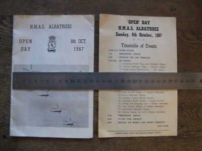 HMAS Albatross Open Day 8 Oct 1967 Souvenir Booklet - RAN Navy, Nowra, Australia
