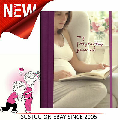 My Pregnancy Journal│160 Page Record/Memory Organiser Book│For Pregnent Women