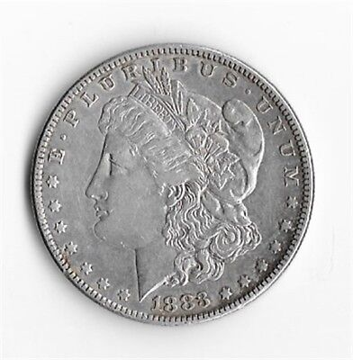1883 US Silver Morgan Dollar (no mint mark)