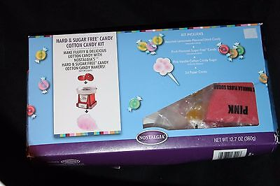 Nostalgia Hard & Sugar Free Candy Cotton Candy Kit 12.7 oz (360 g)