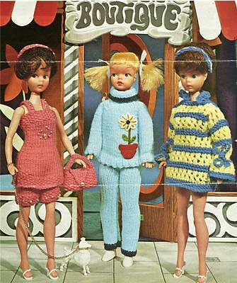 SINDY or BARBIE - COPY DOLL KNITTING PATTERN