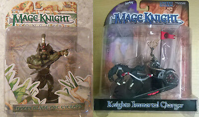 WizKids Mage Knight Doom Blade Orc & Immortal Charger LE (Mint, Sealed)