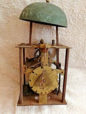birdcage clock movement
