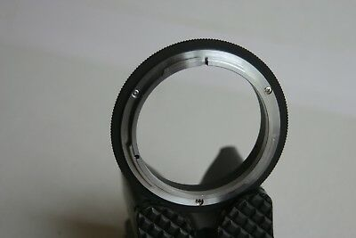 A Thin glassless FD to EOS adapter for the Canon 500mm FD mirror lens