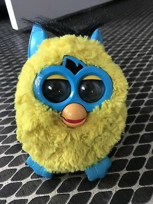 Furby Interactive Plush Turquoise And Yellow
