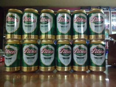 12 Can Set from Chile. Excellent condition.