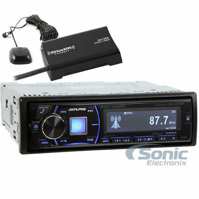 Alpine CDE-HD149BT Bluetooth HD Radio Car Stereo w/ SiriusXM SXV300V1 Tuner