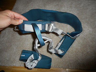 Klettergurt Damen Black Diamond Gr. M, blau, Primrose Harness