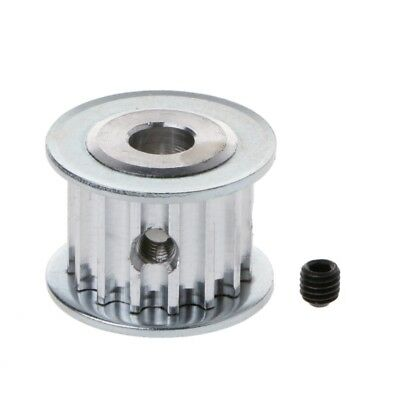 HTD5M 5M Aluminum Timing Belt Drive Pulley 15 Teeth 8mm Hole 16mm Width 1PC