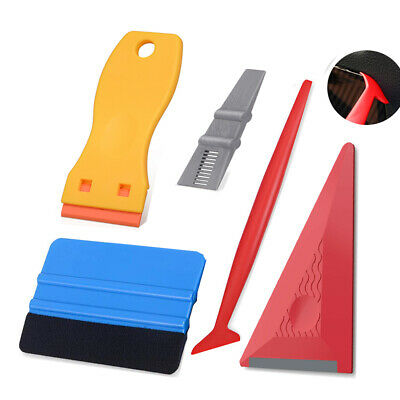 Eco Auto Vinyl Wrap Tools Kit Squeegee Felts Sign Making Snitty Cutter UK