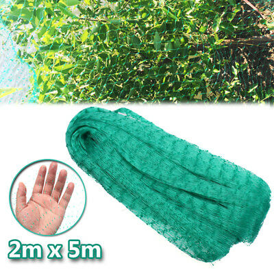 2 x 5m Commercial Fruit Tree Plant Crop Knitted Anti Bird Netting Pest Net Mesh