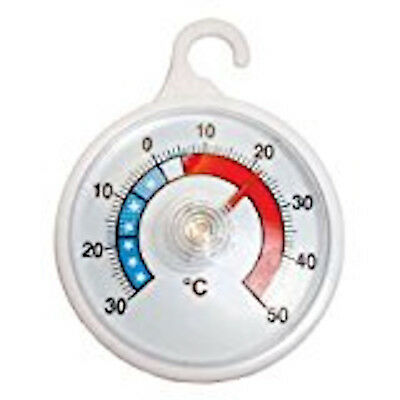 Hanging Hook Dial Fridge Thermometer For Freezer Refrigerator With  Analogue