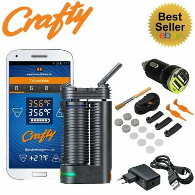 Crafty Portable Vaporizer and All Spare Parts by Storz and Bickel - 2018 Edition