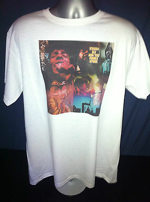 SLY FAMILY STONE T-SHIRT STAND 60s 70s Parliament James Brown Funkadelic Soul