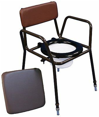 Z-Tec Adjustable Stacking Commode