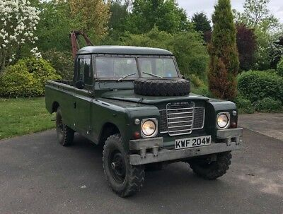 Land Rover Series 2 lla 1971 (Recovery)