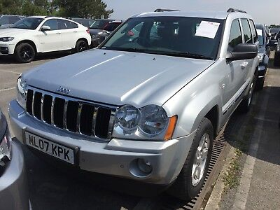 07 Jeep Grand Cherokee 3.0 Crd Limited **may 2019 Mot, 9 Srvcs, Leather Etc!!**