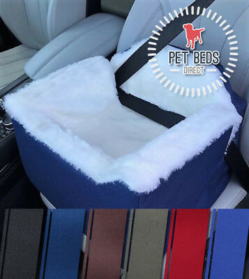 Car Seat for Dogs & Pets Travel Basket / Safety Harness Car Seat in 6 Colours