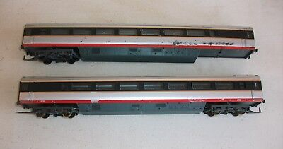 HO Scale Lima NSWR Red Livery XPT Carriages x 2, 1 for parts only.