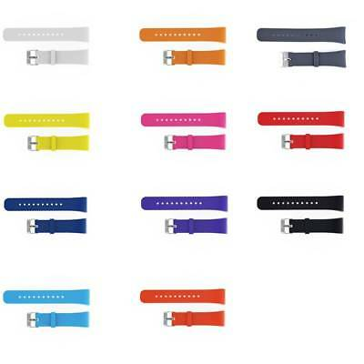 Silicone Sport Replacement Wrist Watch Band Strap for Samsung Gear Fit2 SM-R360