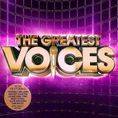 The Greatest Voices - Various Artists (Album) [CD]
