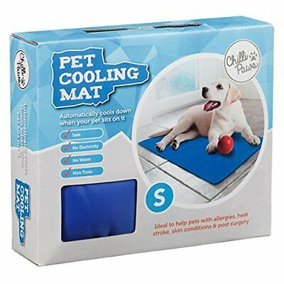 The Pet Shop Cooling Cooler Gel Mat For Dogs & Cats Dark Blue 60x44cm Small