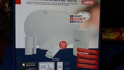 ABUS fuaa35000 a smartvest Kit Alarmanlage, App Basis-Set