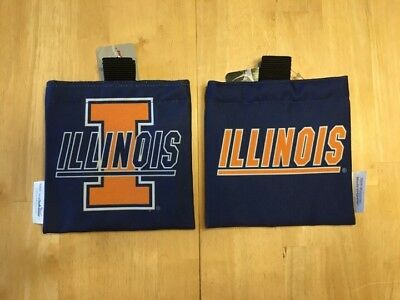 Golf Bag Accessories Pouch Caddy University Of Illinois
