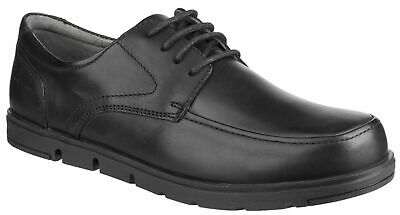 Mens Hush Puppies Viana Leather Lace Up Smart Casual Shoe Sizes 6 to 12