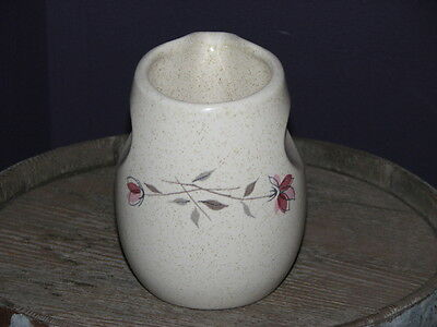 Retro Franciscan Pottery Made In Usa Pink *duet Creamer Pitcher Jug