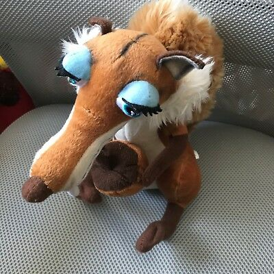 Ice Age 3 Scratte Squirrel 10 Inch Soft Toy