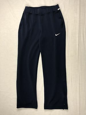 Nike - Navy Blue Poly Athletic Pants (Multiple Sizes) - Used