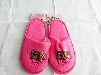 Nwt Girls Sz 11/12 Bratz Slippers