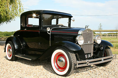 Ford Model A Coupe  V8 Hot Rod, All Steel,Superb,Professionally Built Car