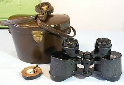 Carl Zeiss West (Oberkochen) 8 x 30 Binoculars & Case