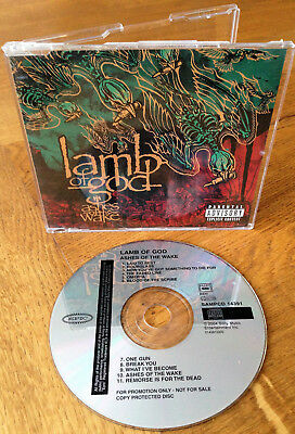 Lamb Of God - Ashes Of The Wake 2004 Issue Promo  Cd Sampcd 14391