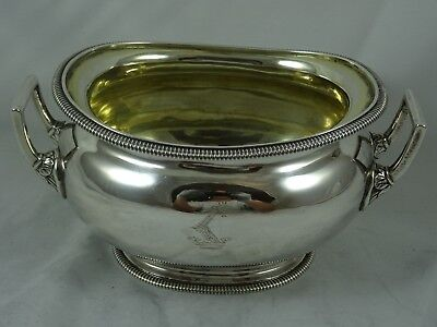 QUALITY GEORGE III solid silver SAUCE TUREEN, 1809, 429gm