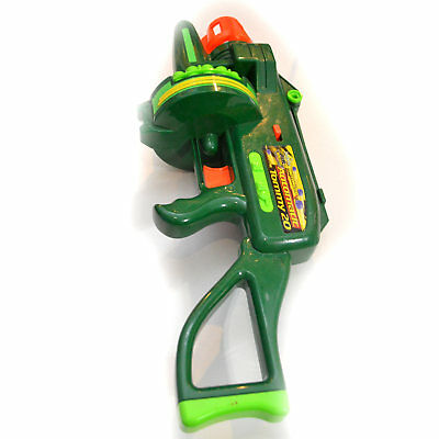 Buzz Bee Air Blaster Tommy 20 Motorized Machine Gun No Battery Cover Untested