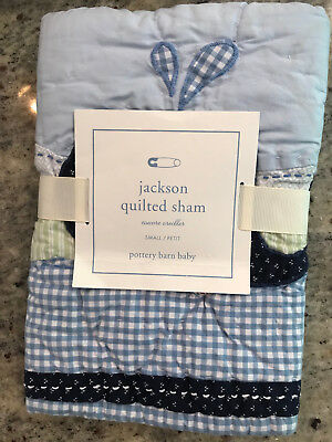 Pottery Barn Kids Jackson Small Quilted Deco Sham NEW