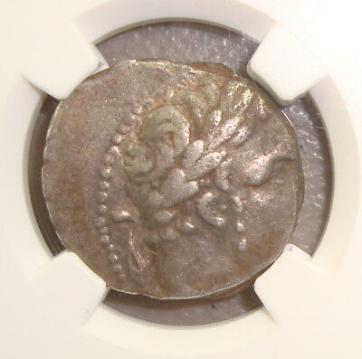 126/5 BC-AD 67/8 Tyre Ancient Silver Shekel NGC VF, Bible Judas 30 Pieces Silver