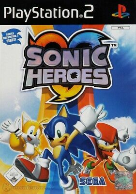 PS2 / Sony Playstation 2 Spiel - Sonic Heroes mit OVP