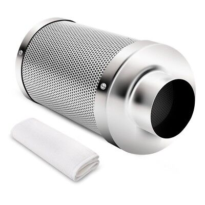 """4 Inch Air Carbon Filter for Indoor Plants Tent Grow Room 4"""" Air Scrubber Odor"""
