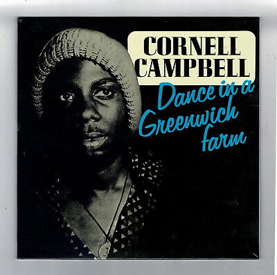 CORNELL CAMPBELL-dance in a greenwich farm LP    reggae roots   (new & sealed)