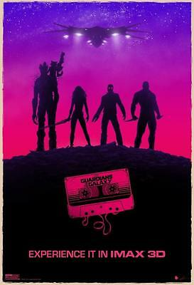 "GUARDIANS OF THE GALAXY - 13""x19"" Original Promo Movie Poster MINT Imax GLOSSY"