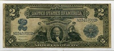 1899 $2 Large Size Silver Certificate Fr.# 256
